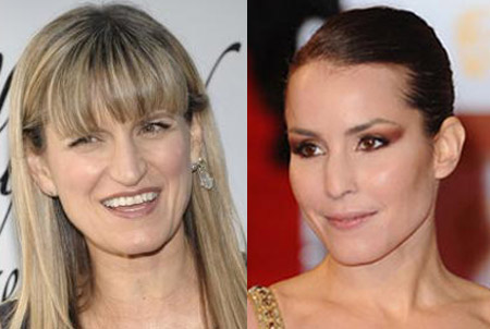 Catherine Hardwicke and Noomi Rapace