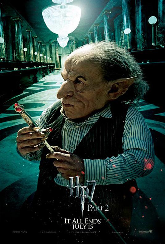 Griphook in Harry Potter and the Deathly Hallows Part 2