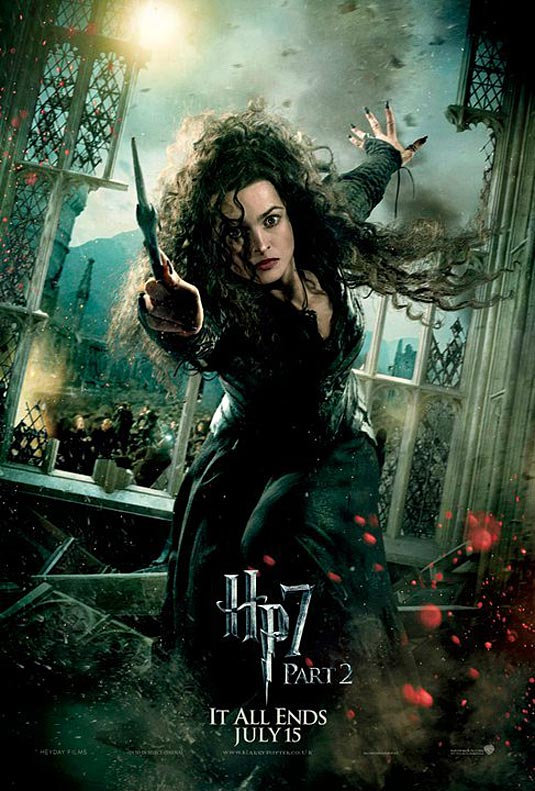 Bellatrix Lestrange in Harry Potter and the Deathly Hallows Part 2