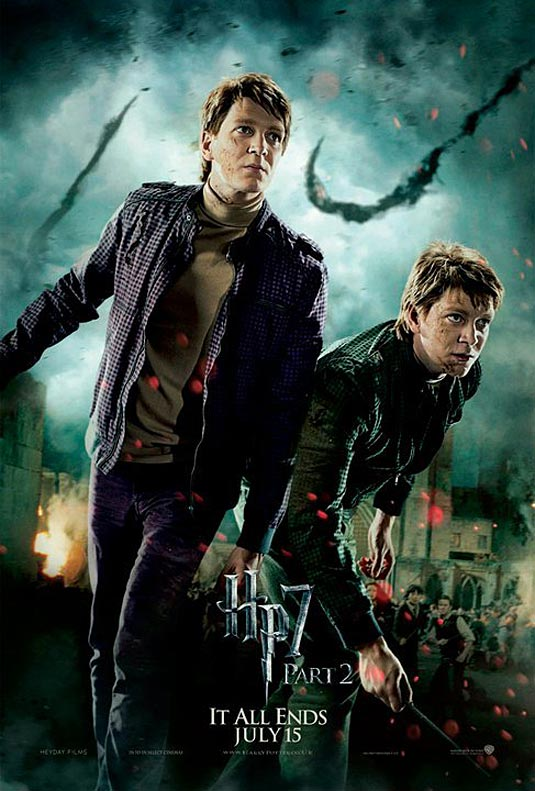 Fred and George Weasley in Harry Potter and the Deathly Hallows Part 2