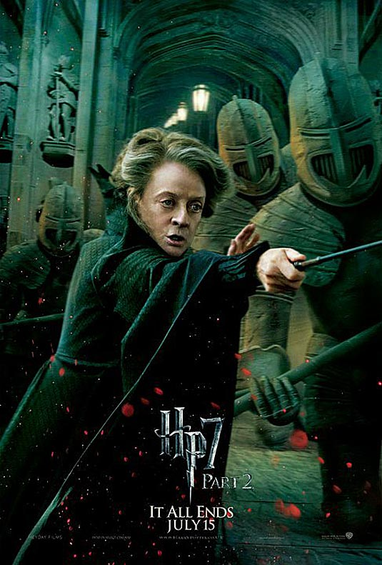 Minerva McGonagall in Harry Potter and the Deathly Hallows Part 2