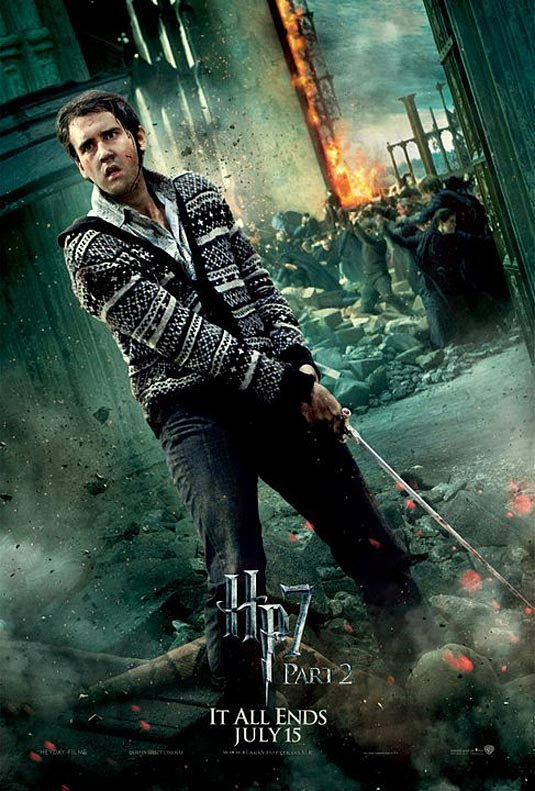 Neville Longbottom in Harry Potter and the Deathly Hallows Part 2