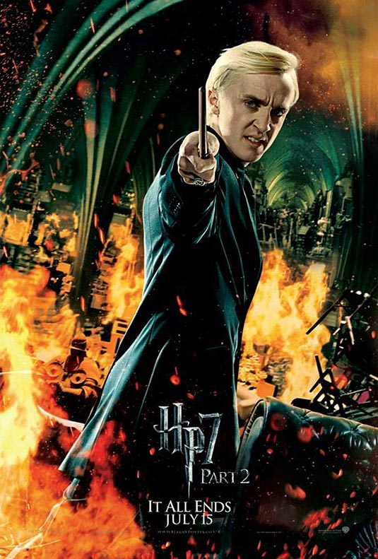 Draco Malfoy in Harry Potter and the Deathly Hallows Part 2