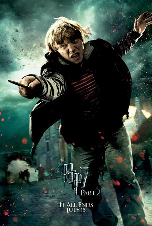 Ron Weasley in Harry Potter and the Deathly Hallows Part 2