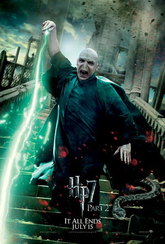 Lord Voldemort in Harry Potter and the Deathly Hallows Part 2