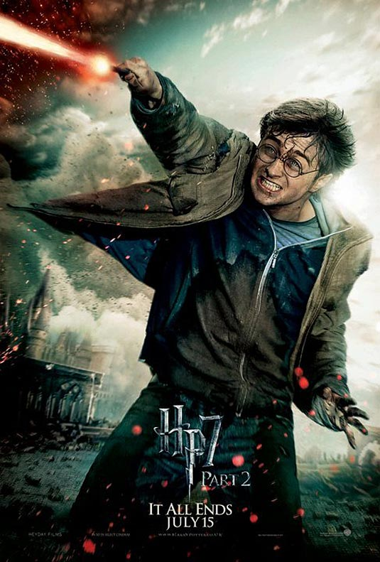 Harry Potter in Harry Potter and the Deathly Hallows Part 2 poster
