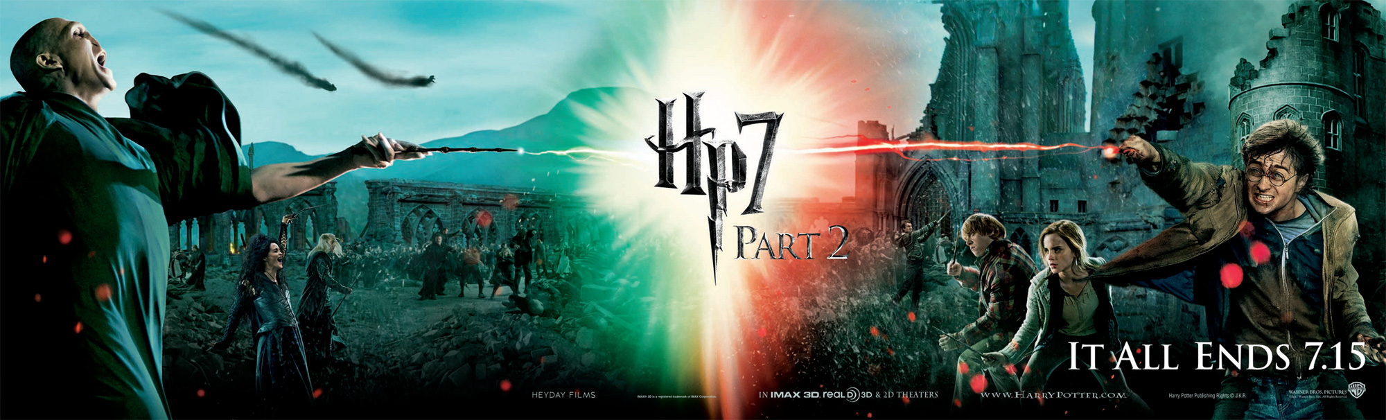 HARRY POTTER AND THE DEATHLY HALLOWS Part 2 Banner