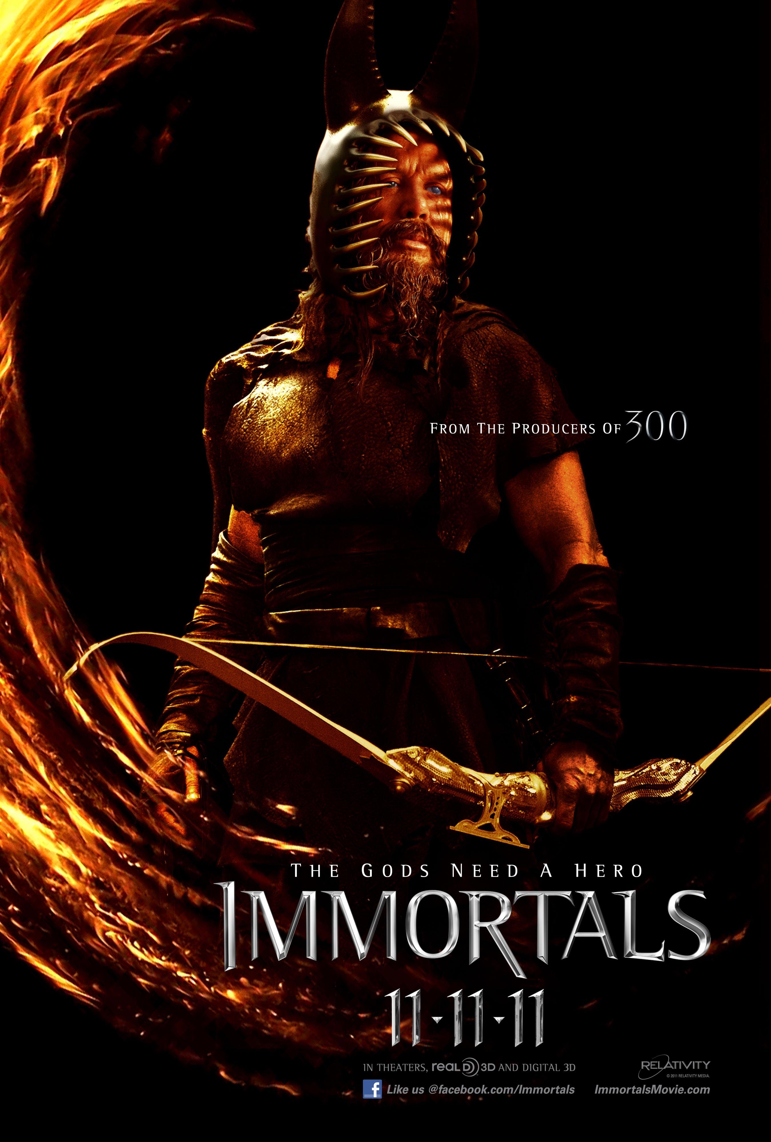 new tarsem singh�s immortals character posters