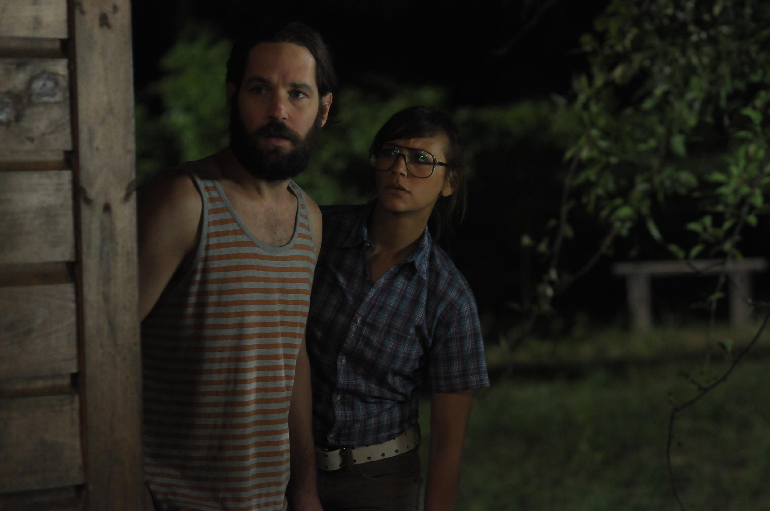 Rashida Jones and Paul Rudd in Our Idiot Brother