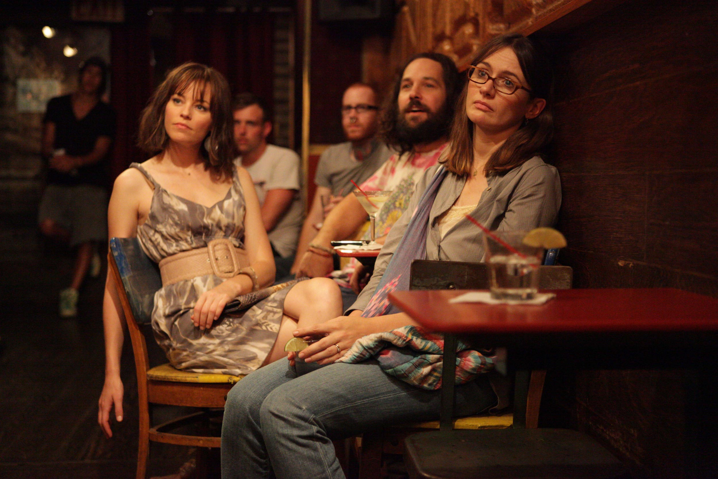 Elizabeth Banks, Emily Mortimer and Paul Rudd in Our Idiot Brother