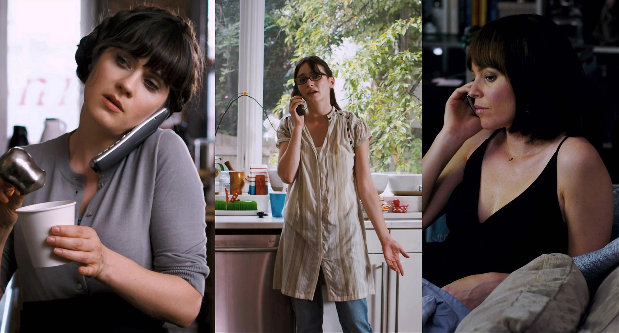 Zooey Deschanel, Elizabeth Banks, Emily Mortimer in Our Idiot Brother