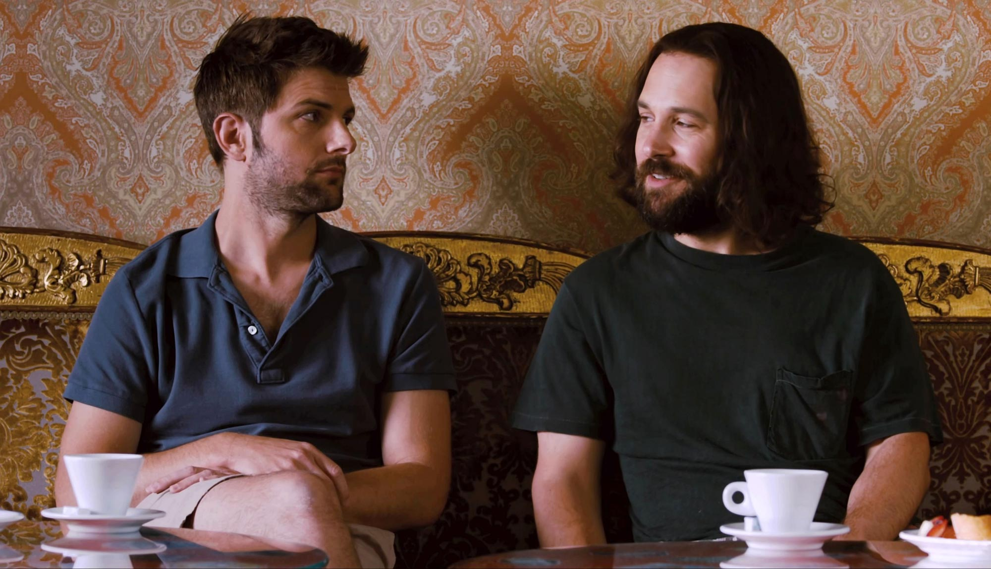 Adam Scott and Paul Rudd in Our Idiot Brother
