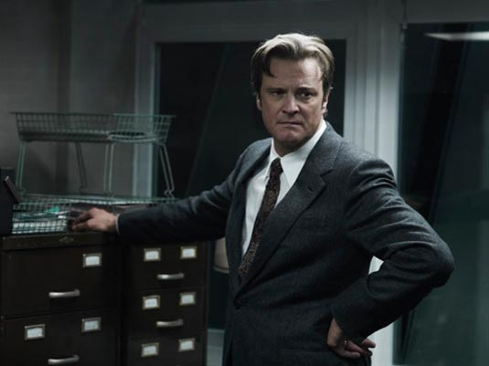 Colin Firth in Tinker, Tailor, Soldier, Spy