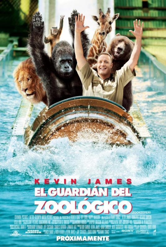 Six New International Posters for Zookeeper - FilmoFilia