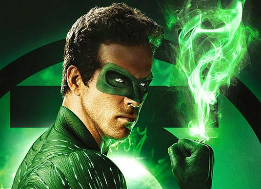 Ryan Reynolds as Hal Jordan in Green Lantern (2011)
