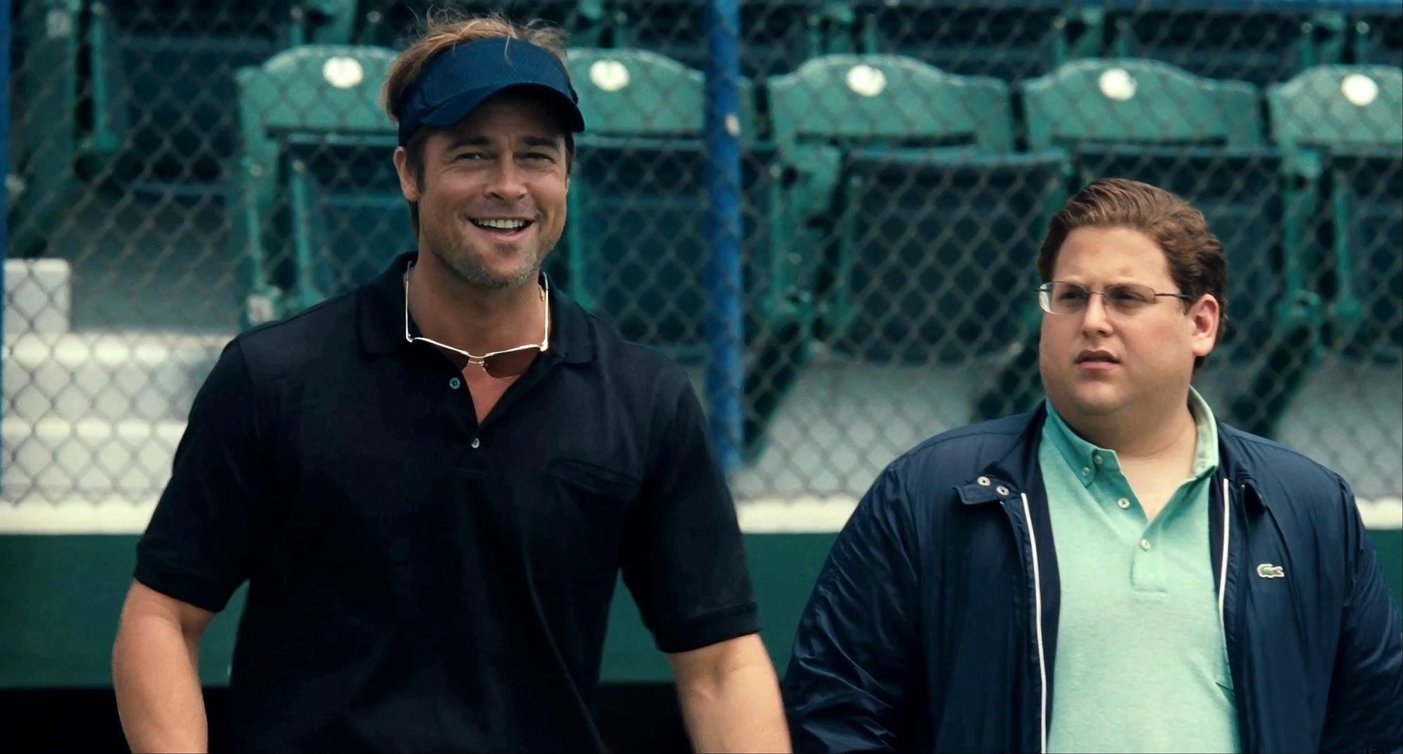 Brad Pitt and Jonah Hill, Moneyball (2011)