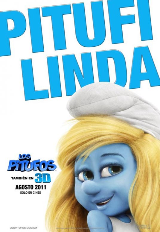 Smurfette, The Smurfs Poster