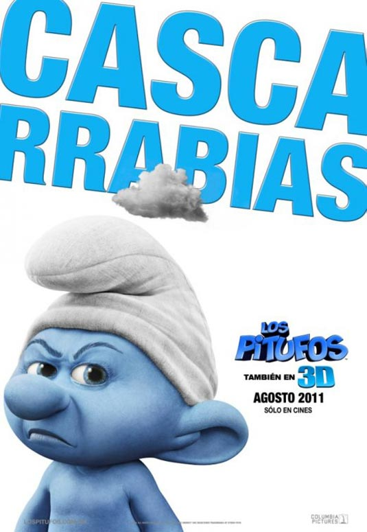 Grouchy Smurf, The Smurfs Poster
