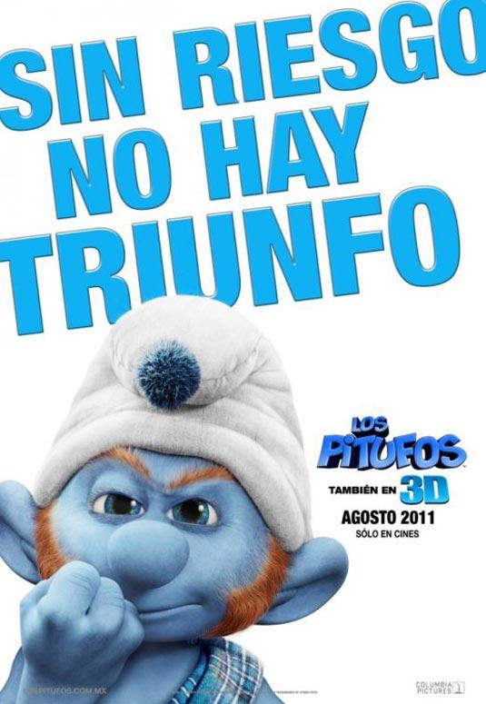 Gutsy Smurf, The Smurfs Poster