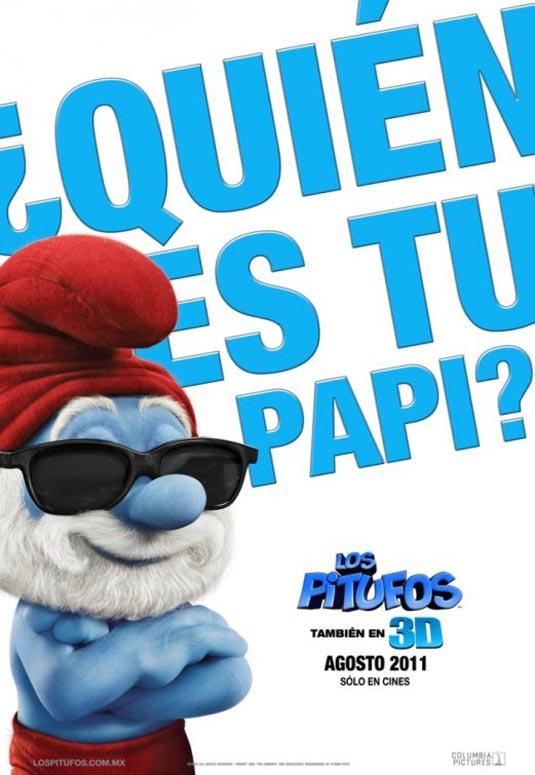 Papa Smurf, The Smurfs Poster