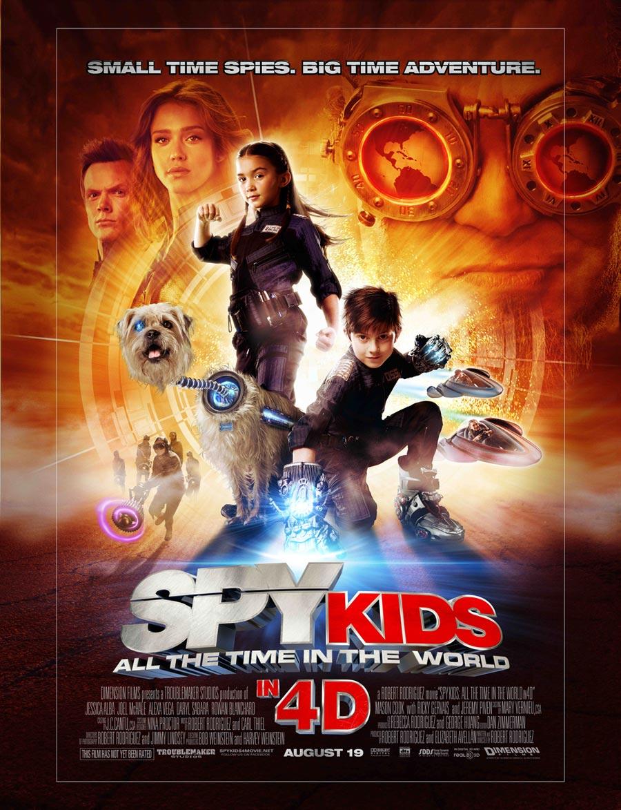 Kids Movie Posters 28 Hi-Res Spy Kids 4 P...