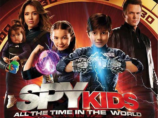 Spy Kids: All The Time In The World 4D