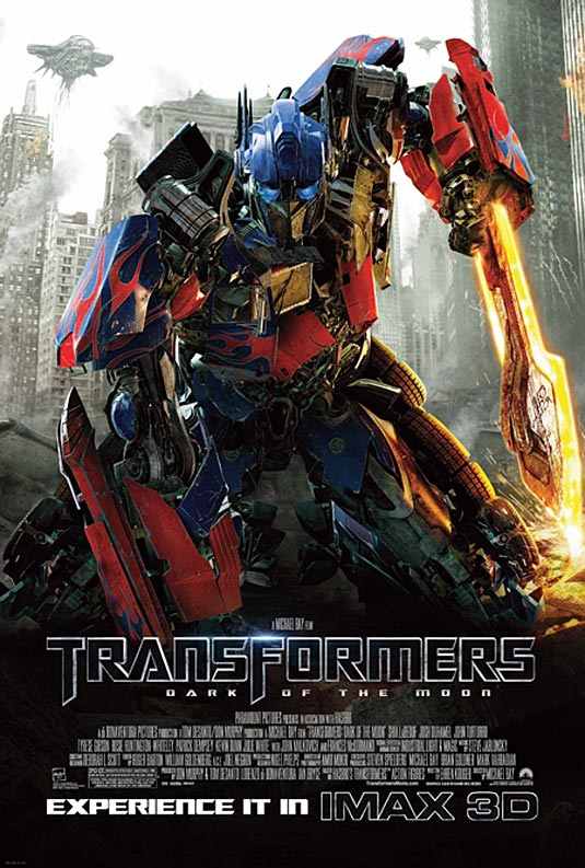 transformers 3 poster 2011. Transformers 3 IMAX Poster