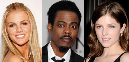 Brooklyn Decker, Chris Rock, Anna Kendrick