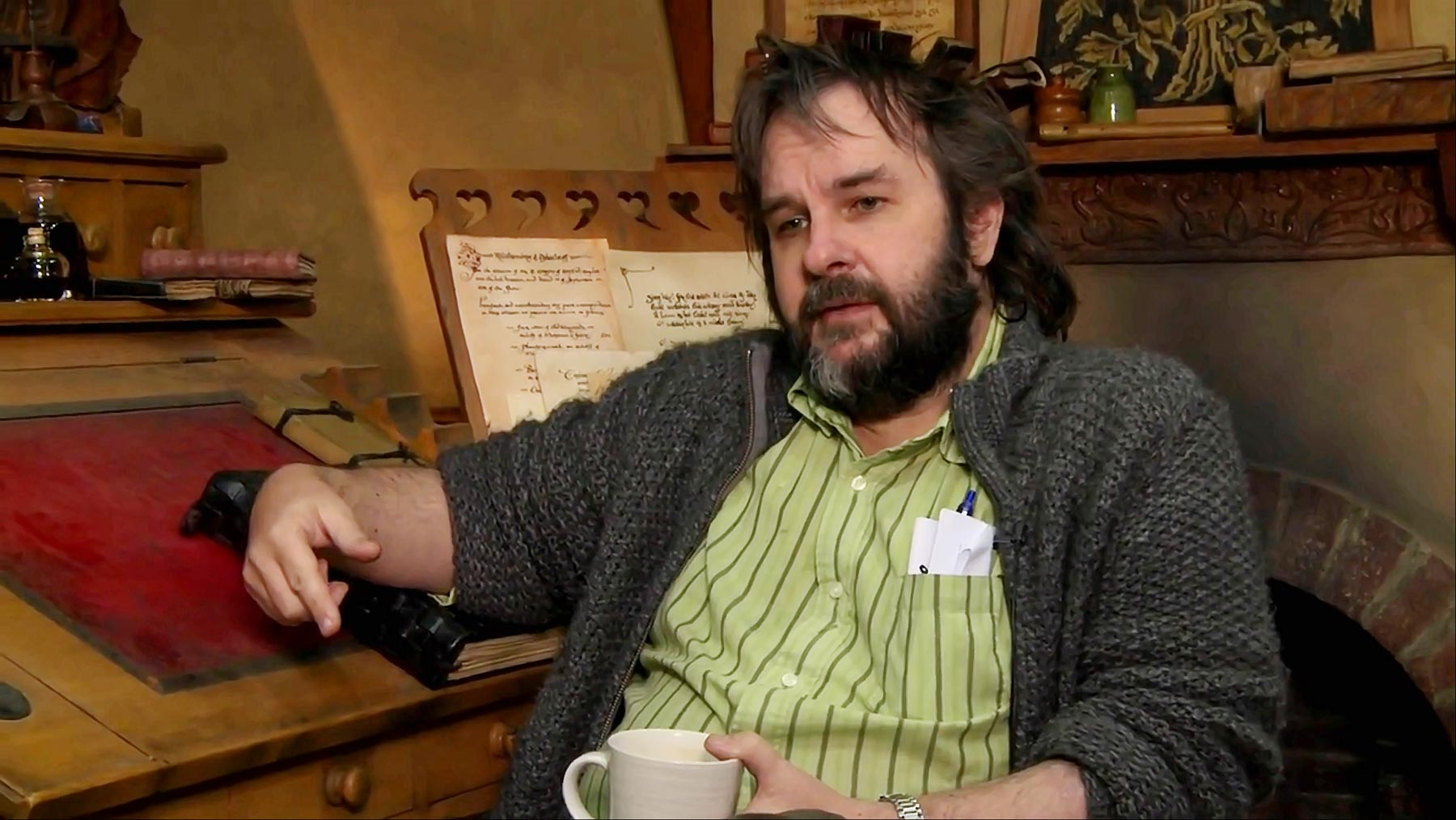 The Hobbit: Peter Jackson's Video Diary From the Set ...