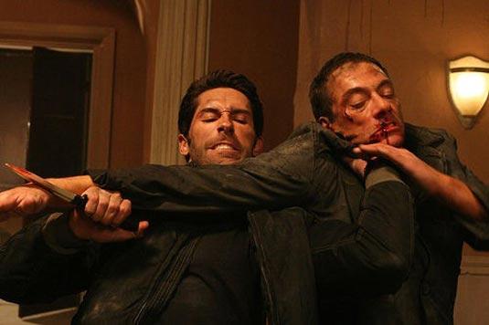 Scott Adkins and Jean Claude Van Damme, Assassination Games (2011)