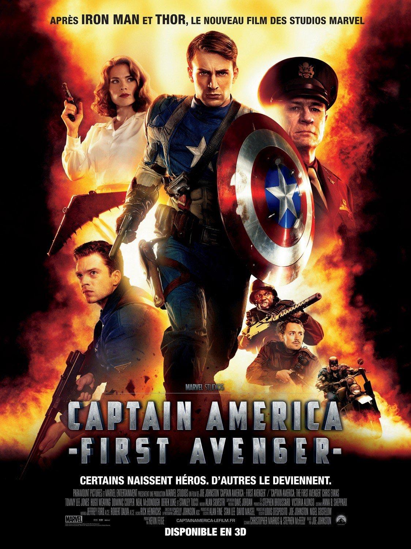 French captain america poster filmofilia - Image captain america ...