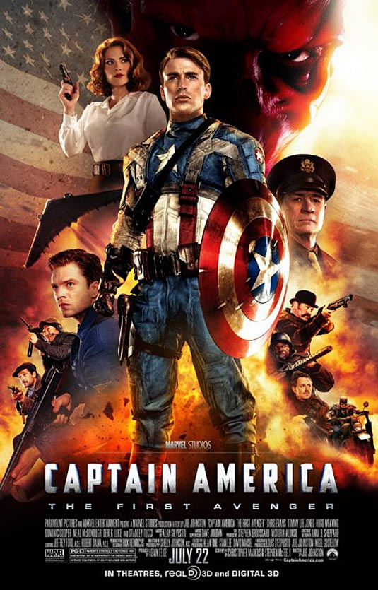 """Captain America: The First Avenger"" Poster"