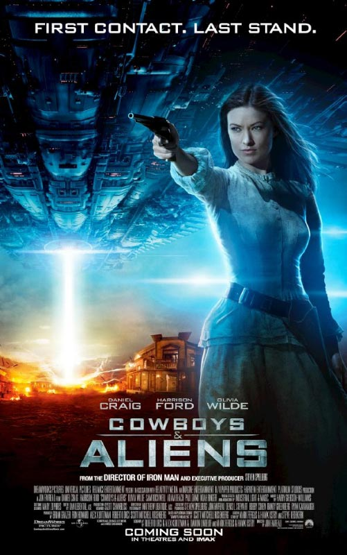 Cowboys & Aliens Character Poster: Olivia Wilde