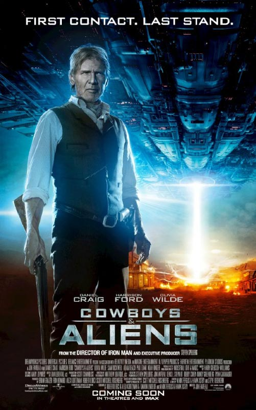 Cowboys & Aliens Character Poster: Harrison Ford