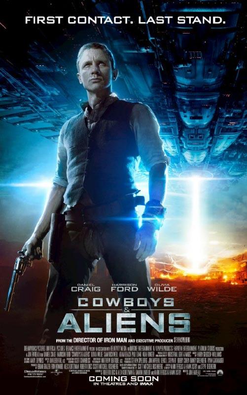 Cowboys & Aliens Character Poster: Daniel Craig