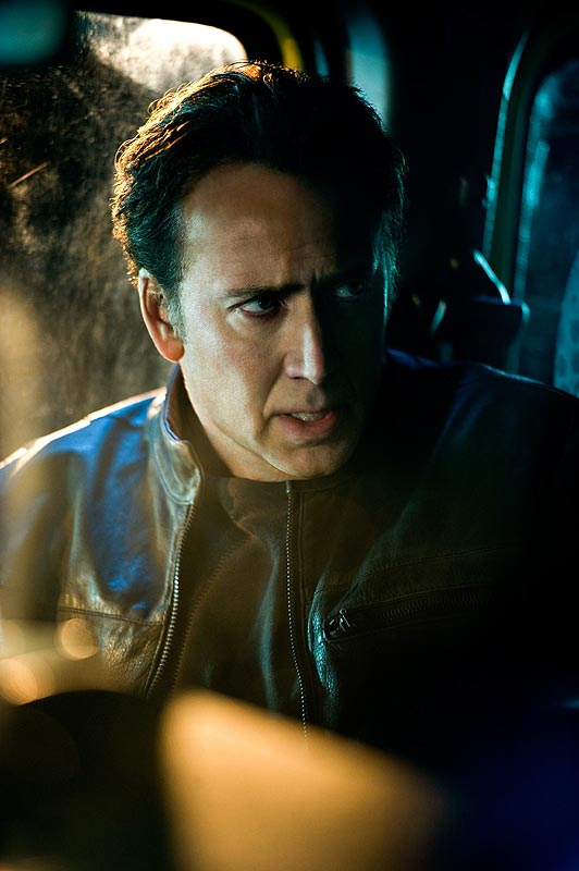 "Nicolas Cage in ""Ghost Rider: Spirit of Vengeance"""