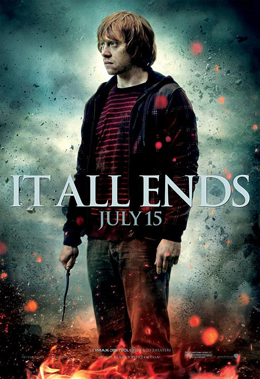 Harry Potter and the Deathly Hallows: Part 2 Poster - Rupert Grint