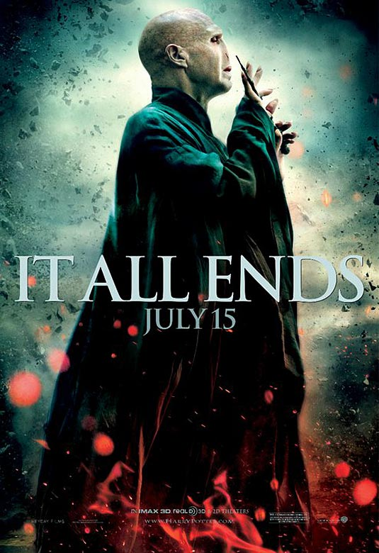 Harry Potter and the Deathly Hallows: Part 2 Poster - Ralph Fiennes