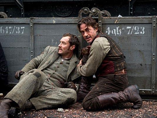 Sherlock Holmes 2 Photo: Sherlock Holmes (Robert Downey Jr.) and Dr. John Watson (Jude Law)