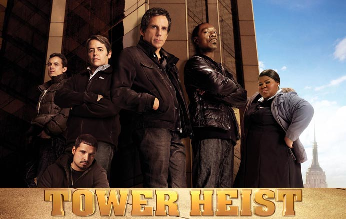 TOWER HEIST Trailer and Poster