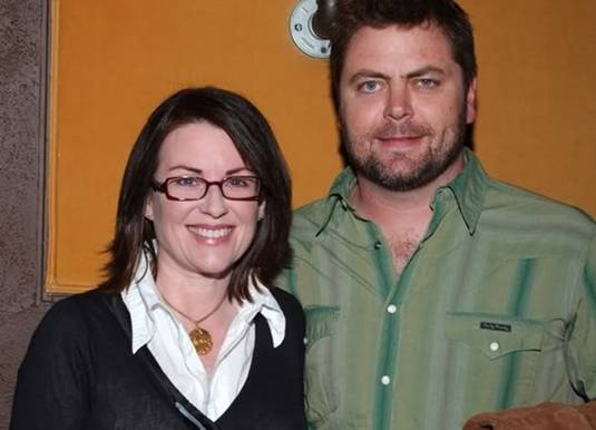 The gallery for --> Nick Offerman And Megan Mullally Wedding