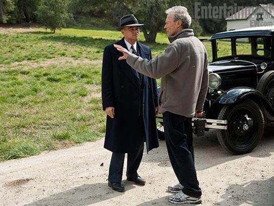 Clint Eastwood and Leonardo DiCaprio, J. Edgar