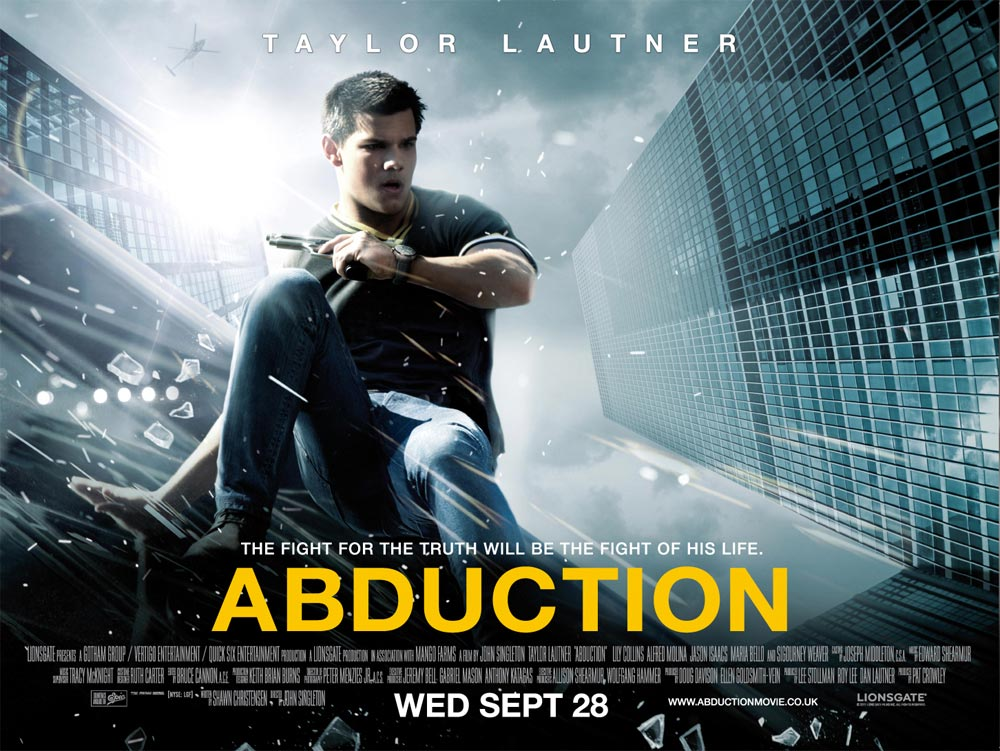 Movie Posters 2011: ABDUCTION Promotion