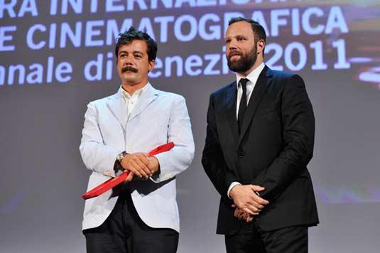 Efthymis Filippou and Yorgos Lanthimos Venice 2011