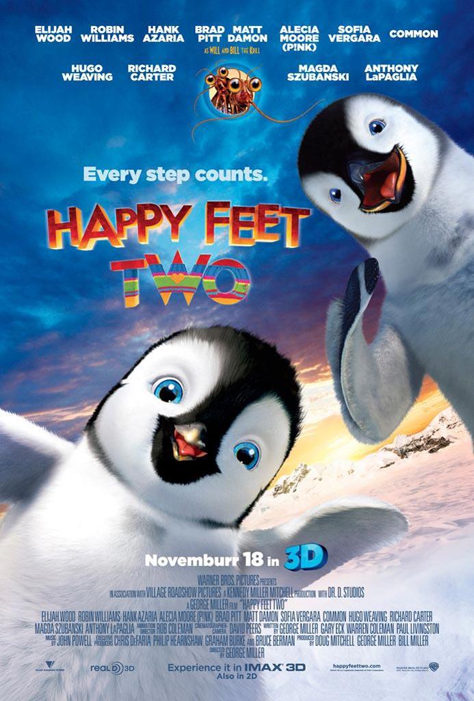 Three New HAPPY FEET TWO Posters - FilmoFilia