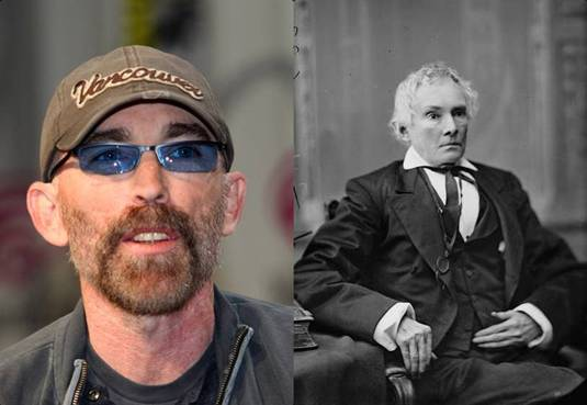 Jackie Earle Haley in the role of Alexander Stephens