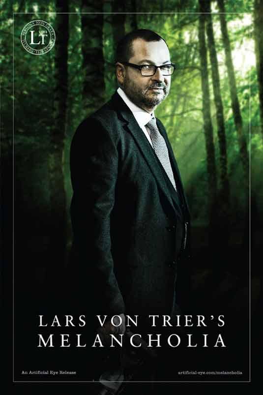 Lars Von Trier Melancholia Poster