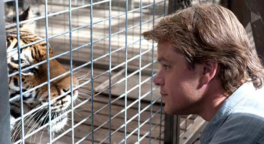 Matt Damon in We Bought A Zoo