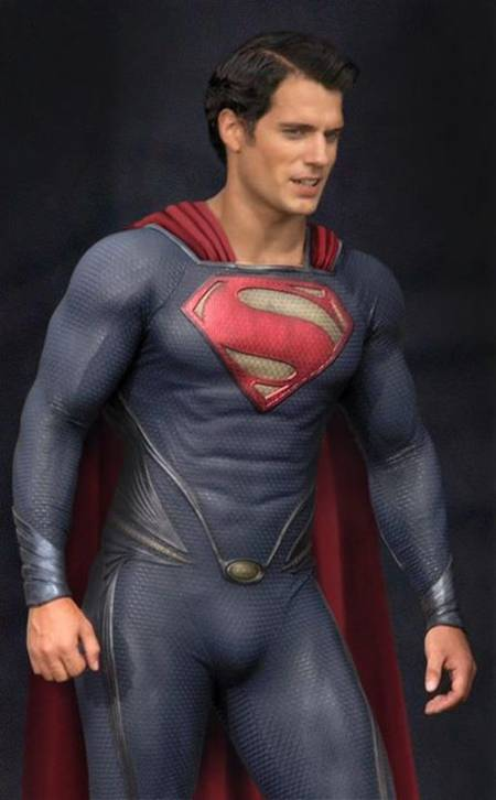 Superman-Man of Steel - Set Photo Costume - Henry Cavill