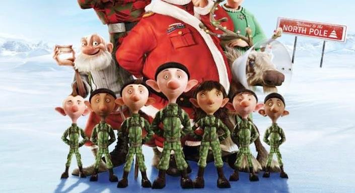 Arthur Christmas Poster.Six Arthur Christmas Posters Filmofilia
